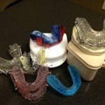 Variety or sleep apnea oral mouth guards devices - Obstructive Sleep Apnea