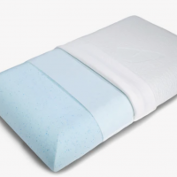 Solid Foam pillow ideal for stomach sleeper