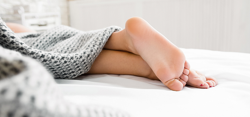 Sleep Myoclonus Often Occurs in the Toes