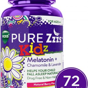 Vicks Pure Zzzs Kids Melatonin Gummies